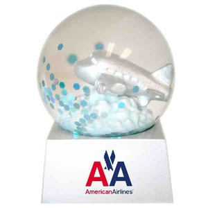 Stock Snow Globes - Ship Shaped Stock Snow Globes