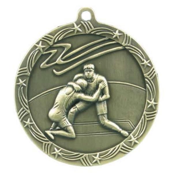 Custom Printed Cheerleading Shooting Star Medals!
