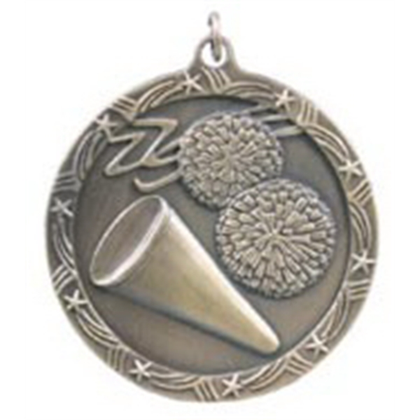Custom Printed Cheerleading Shooting Star Medals!