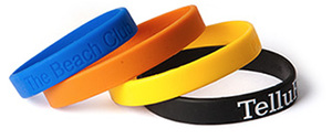 Custom Imprinted Silicone Awareness Wristbands