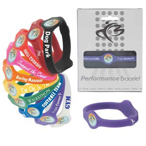 Custom Imprinted Silicone Performance Bracelets!