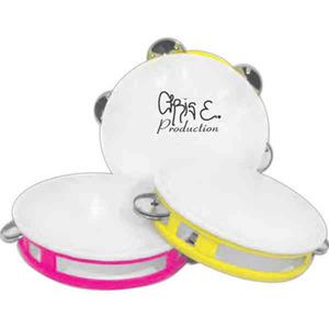 Custom Imprinted Silver Tambourines