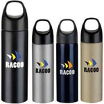 Custom Imprinted Simple Metal Water Bottles!