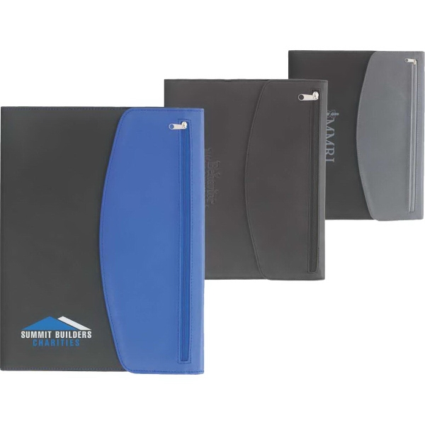 Personalized Canadian Manufactured Zippered Portfolios!