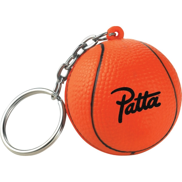 Basketball Promotional Items - Basketball Sport Themed Keychains