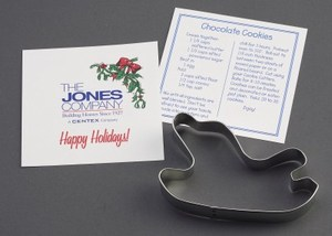 Christmas Themed Promotional Items - Sleigh Stock Shaped Cookie Cutters