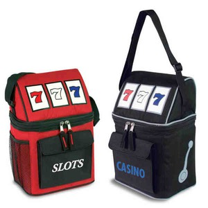 Custom Imprinted Slot Machine Cooler Bags!