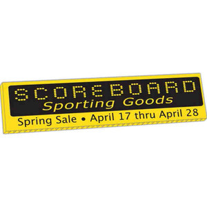 Corrugated Plastic Yard Signs - Small Corrugated Plastic Yard Signs