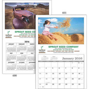 Customized Small Hanger Custom Calendars