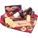 Custom Imprinted Cheese and Sausage Food Gifts