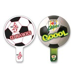 Custom Printed Soccer Ball Fan!