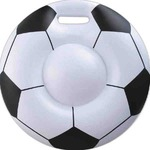 Custom Imprinted Soccer Ball Inflatable Cushions!