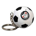 Custom Printed Soccer Ball Key Chain!