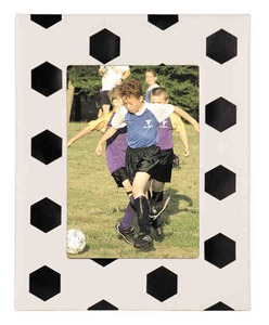Custom Imprinted Soccer Ball Picture Frames!