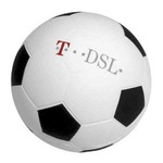 Custom Printed Soccer Ball Stress Reliever!