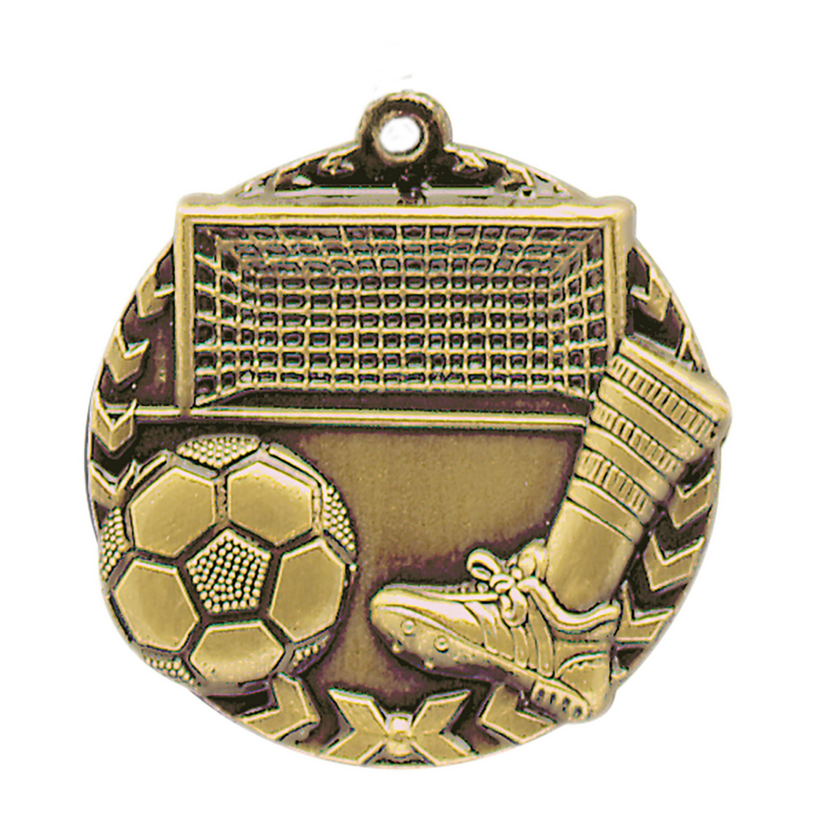Personalized Soccer Millennium Medals!