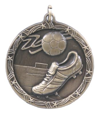 Custom Printed Soccer Shooting Star Medals!