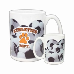 Customized Soccer Sport Mugs