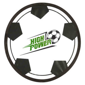Flying Saucers And Discs - Soccer Sport Theme Folding Flyers