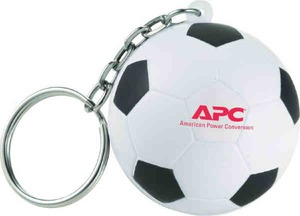 Custom Imprinted Soccer Sport Themed Keychains!