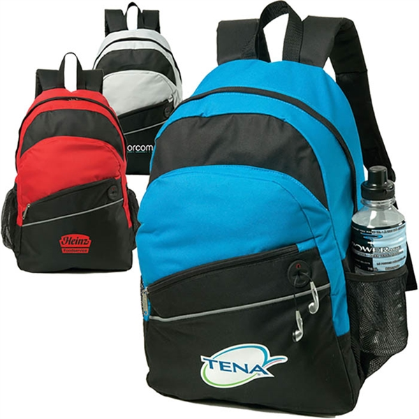 Custom Decorated Canadian Manufactured Solara Backpacks!