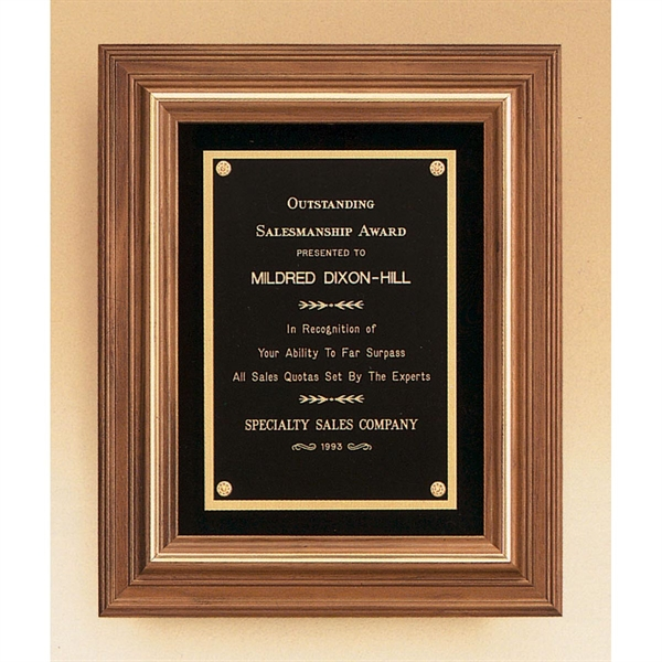 Custom Imprinted Airflyte Wood Plaques Engraved