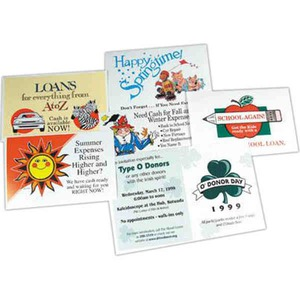 Custom Imprinted Souvenir Postcards