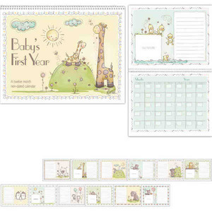 Appointment Calendars - Spanish Babys First Year Appointment Calendars