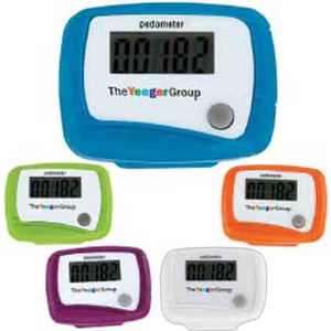 Custom Decorated Specially Priced Pedometers!
