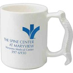 Custom Printed Spinal Bone Handle Shaped Mugs!