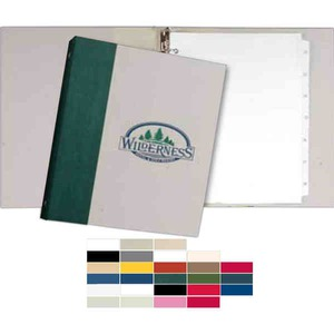 Recycled Binders - Spine Wrap Recycled Material Binders
