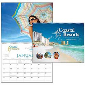 Custom Imprinted Spiral Appointment Custom Calendars