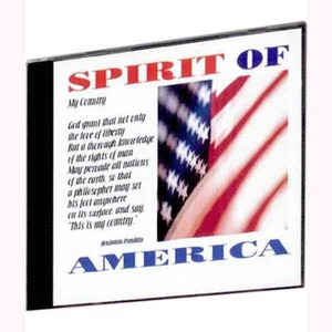 Custom Imprinted Spirit of America Patriotic Music CDs!