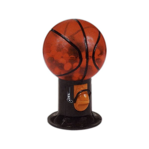 Custom Made Basketball Ball Shaped Gumball Dispensers