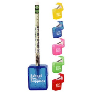 Custom Imprinted Square Pencil Sharpeners