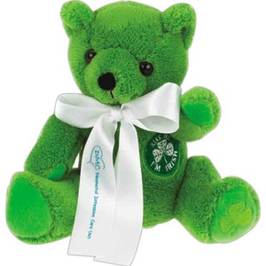 St. Patrick's Day Themed Promotional Items - St. Patrick's Day Holiday Stuffed Animals