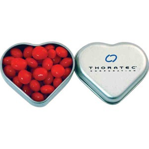 St. Valentine's Day Themed Promotional Items - St. Valentine's Day Heart Shaped Tins