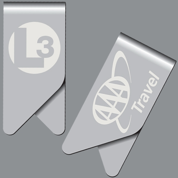 Custom Imprinted Laser Engraved Keepaklip Paperclips!