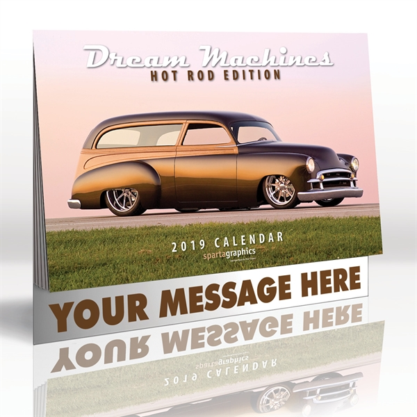 Custom Designed Antique Cars Appointment Calendars!