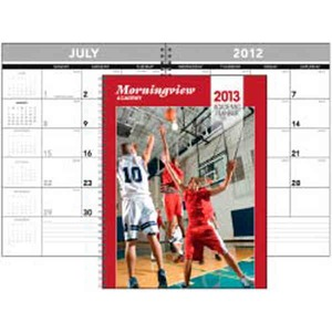 Custom Printed Stapled 14 Month Planner Custom Calendars