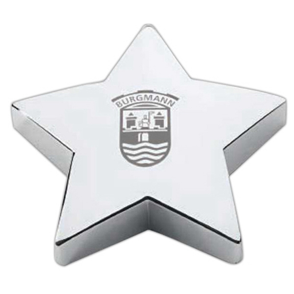 Star Shaped Promotional Items - Star Shaped Paperweights