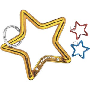 Star Shaped Promotional Items - Star Shaped Carabiners