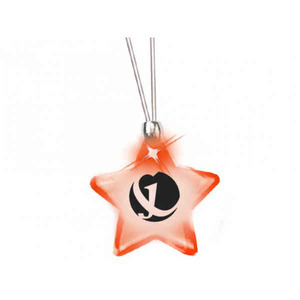 Star Shaped Promotional Items - Star Shaped Glow Necklaces