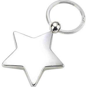 Custom Imprinted Star Shaped Key Tags