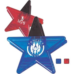 Star Shaped Promotional Items - Star Shaped Magnetic Clips