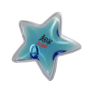 Custom Imprinted Star Shaped Reusable Instant Heat Packs