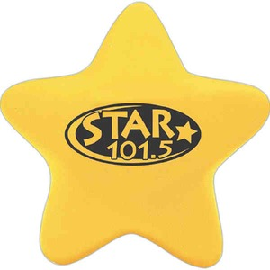 Custom Imprinted Star Shaped Stress Ball Squeezies!