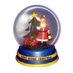 Custom Imprinted Stock Snow Globes