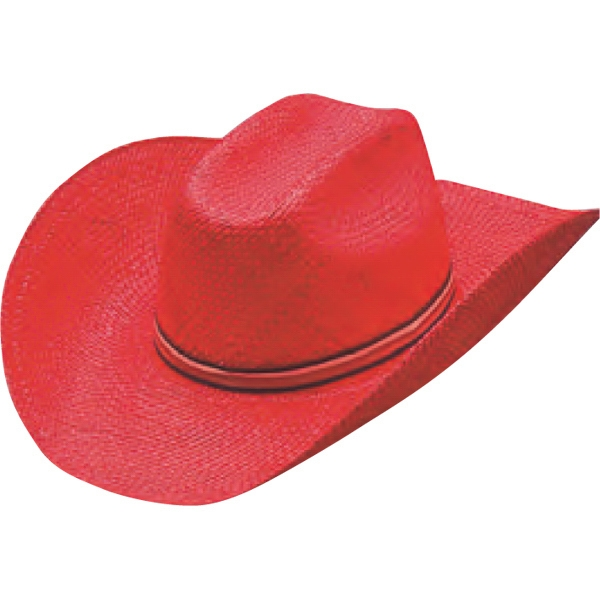 7dbb2232225 Colored Straw Cowboy Hats - Custom Made Promotional Items - WaDaYaNeed