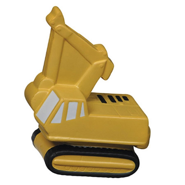 Custom Imprinted Backhoe Shaped Stress Relievers